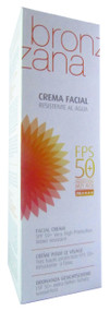 Diet-Esthetic Bronzana Water Resistant Face Sun Block Cream FPS50 + (UVA+UVB+PA+++) 75 ML