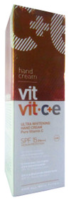 Diet-Esthetic Vit Vit.C+E Ultra Whitening Hand Cream Pure Vitamin C SPF 15 (100ML)