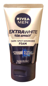 Nivea Men Extra White Dark Spot Minimizer Facial Foam 100ML buy online in pakistan