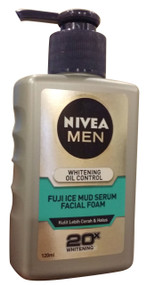 Nivea Men Whitening Oil Control Fuji Ice Mud Facial Foam buy online in Pakistan best price original product