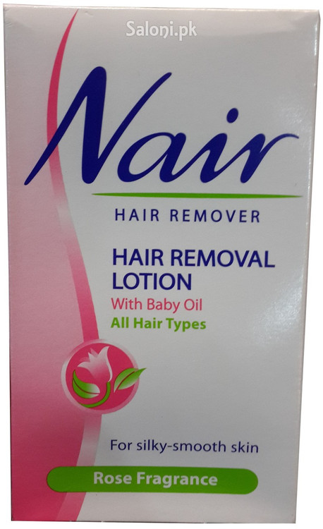 Nair Hair Removal Lotion With Baby Oil Rose Fragrance 120ml Rs 275
