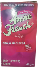 Anne French Rose Fragrance Hair Removing Lotion Front