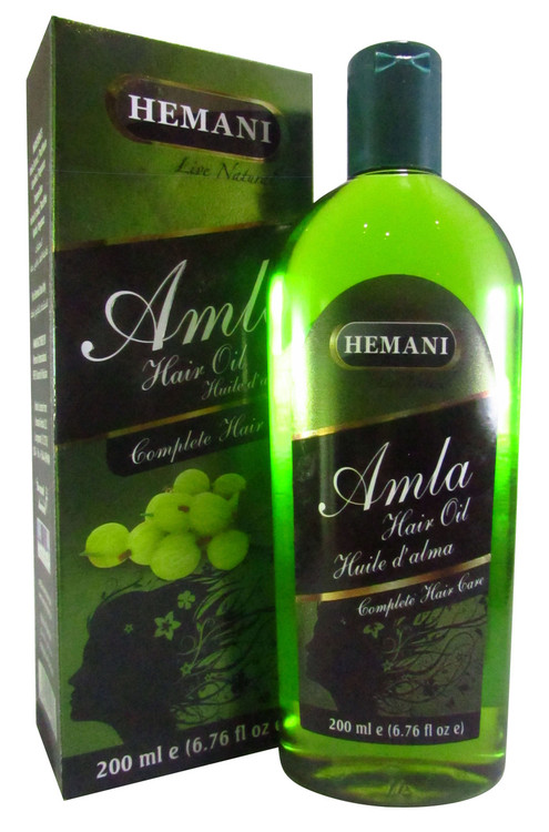 Hemani Amla Green Hair Oil 200ml buy online in pakistan