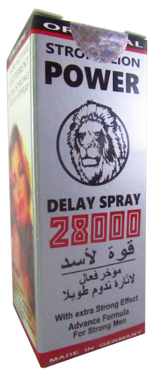 Original Strong Lion Power 28000 Long Time Delay Spray 45 Ml