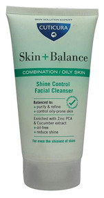 Cuticura - Skin + Balance Shine Control Facial Cleanser (Combination and Oil Skin) 150ml