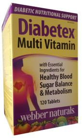 Webber Natural Diabetex Multi Vitamin 120 Tablets shop online in pakistan imported mulitvitamin best price