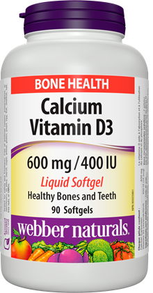 Webber Natural Calcium 600 with D3 400IU 90 Softgels imported supplement buy online in pakistan best price