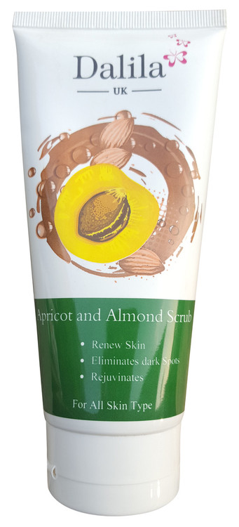 Dalila UK Apricot & Almond Scrub  Buy Online In Pakistan Best Price