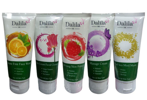 Dalila UK Oily Acne Skin Facial Kit 150ML