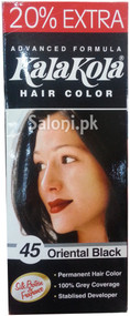 Kala Kola Hair Color 45 Oriental Black Front