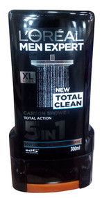 L'oreal Paris Total Clean Men Expert Carbon Shower 5 In 1