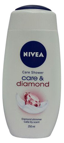 Nivea Care & Diamond Care Shower 250ML