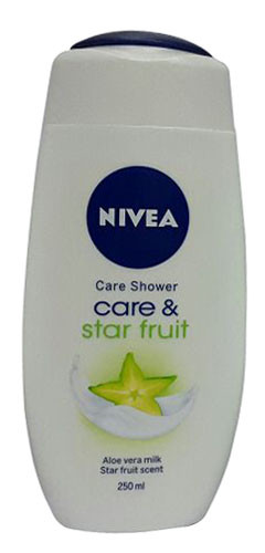 Nivea Care & Star Fruit Care Shower 250ML