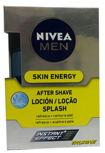 Nivea Men Skin Energy After Shave Splash