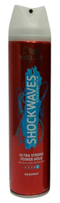 Wella Shockwaves Style Attract Play Ultra Strong Power Hold HairSpray