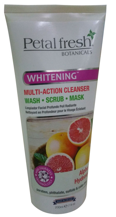 Petal Fresh Whitening Multi-Action Cleanser