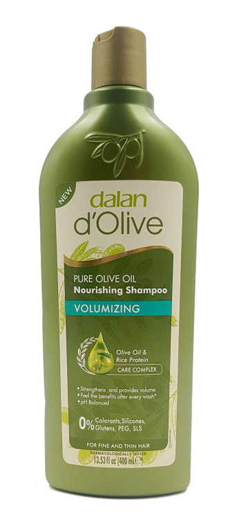 Dalan D'Olive Olive Oil Nutrition Volumizing Shampoo 400 ml Buy online in Pakistan on Saloni.pk