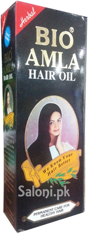 Bio Amla Herbal Hair Oil Front