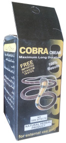 Cobra Maximum Long Duration Cream (Imported) Side
