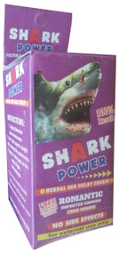 Shark Power Romantic Condom Side