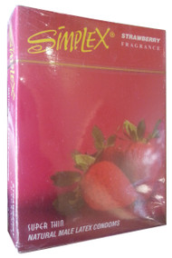 Simplex Super Thin Natural Male Latex Condom 3 Pieces