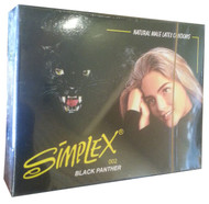 Simplex Black Panther Natural Male Latex Condom 3 Pieces
