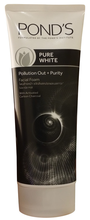 Pond's Pure White Pollution Out + Purity Facial Foam