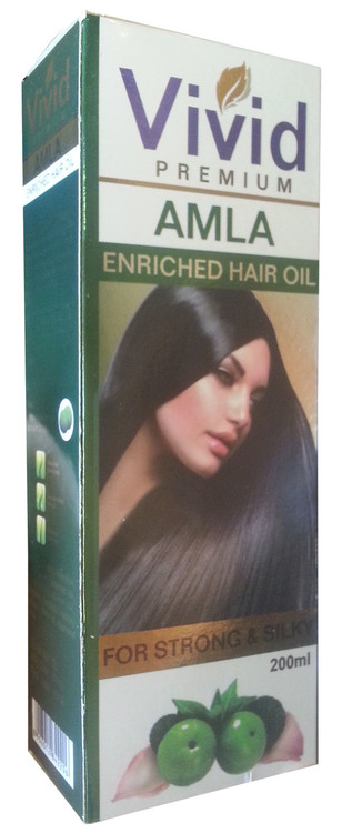 Vivid Premium Amla Enriched Hair Oil For Strong & Silky 200ML