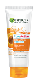 Garnier Pure Active Apricot Exfoliating Scrub 100 Grams