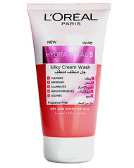 L'Oreal Paris Hydra Total 5 Silky Cream Facewash