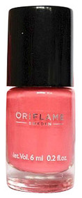 Oriflame Pure Colour Nail Polish Mini Peach Pink