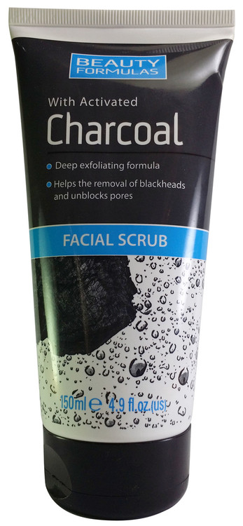 Beauty Formulas Charcoal Facial Scrub 150ml buy online in pakistan best price original products