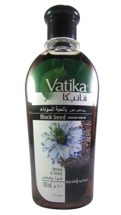 Vatika Black Seed Enriched Hair Oil(Front)