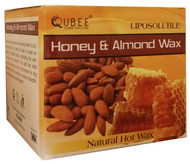 Qubee Liposoluble Hot Wax Honey & Almond 6 Refills buy online in pakistan