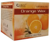 Qubee Liposoluble Natural Hot Wax Orange 6 Refills buy online in pakistan