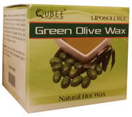 Qubee Liposoluble Hot Wax Green Olives 6 Refills buy online in pakistan