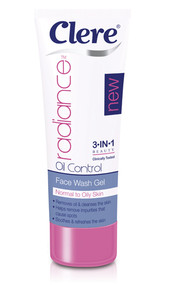 Clere Radiance Oil Control Face Wash Gel 100ML buy online in pakistan