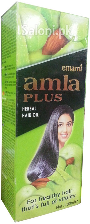 Emami Amla Plus Herbal Hair Oil Front