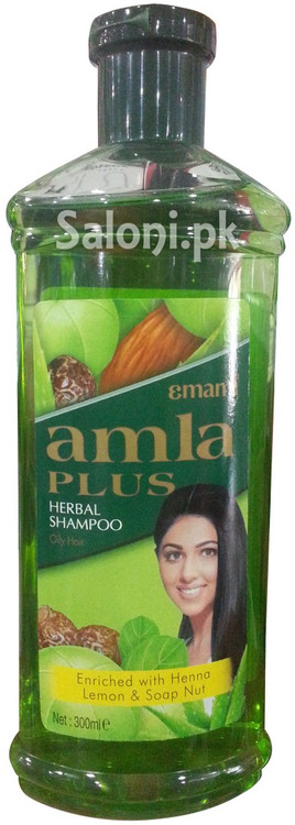 Emami Amla Plus Herbal Shampoo for Oily Hair Front