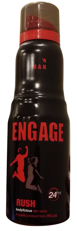 Engage Bodylicious Deo Spray (RUSH) 150 ML buy online in pakistan