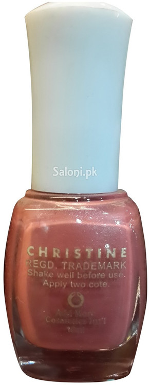 Christine Nail Polish no 217 Back