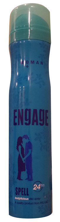 Engage Bodylicious Deo Spray (SPELL) 150 ML Buy online in pakistan