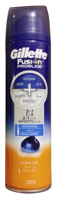 Gillette Fusion ProGlide Hydrating Shaving Gel 200 ML buy online in pakistan original products