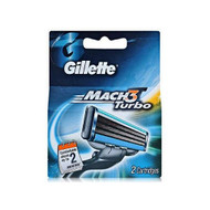 Gillette Mach3 Turbo Carts 2 Original Product