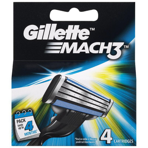 Gillette Mach3 Carts 4 Buy Online In Pakistan