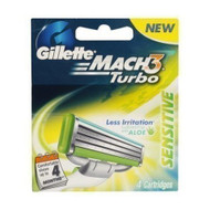 Gillette Mach3 Turbo Blades 4 carts Buy Online In Pakistan