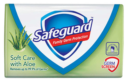 Safeguard Anti-Bacterial Soft Care with Aloe Bar Soap 115 Grams  buy online in pakistan best price original products