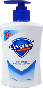 Safeguard Anti-Bacterial Pure White Liquid. Lowest price on Saloni.pk.