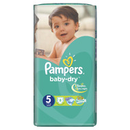 Pampers Baby Dry Carry Pack Junior Butterfly Size 5/11-25 KG/8 Diapers buy online in Pakistan