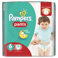 Pampers Pants Jumbo Pack (Extra Extra Large) Size 6 XXL/16 Plus KG/19 Pants original product